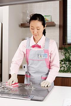 ダスキンのお掃除サービスのサービス提供イメージ