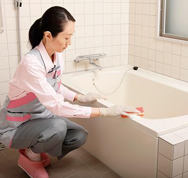 ダスキンの浴室大掃除